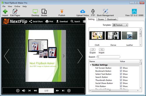 Next FlipBook Maker Pro截图1